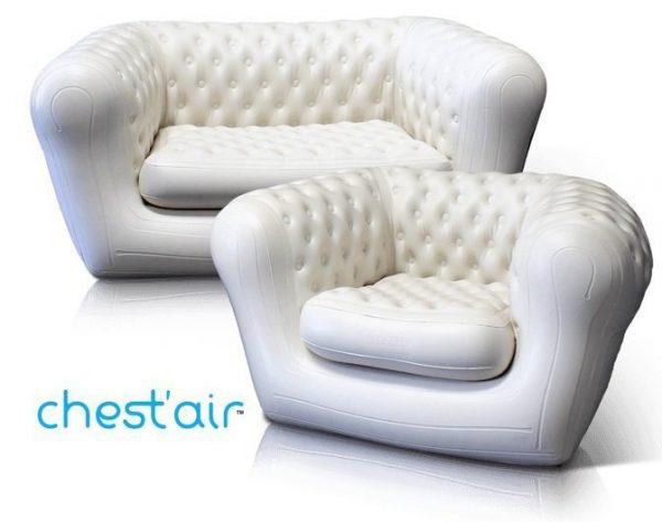 canapé et fauteuil chest'air