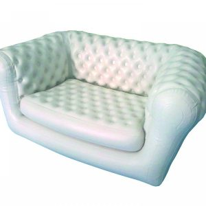 Location canapé type chesterfield gonflable 2 places