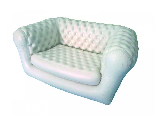 location canapé chesterfield gonflable 2 palces