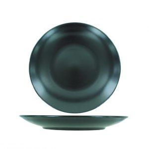 Assiette Black ronde 21
